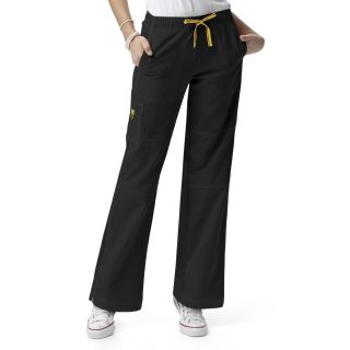 Womens Sporty Cargo Pant-WonderWink