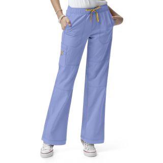 Womens Sporty Cargo Pant-WonderWink