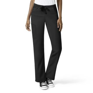 Full Elastic Boot Cut Pant-WonderWink
