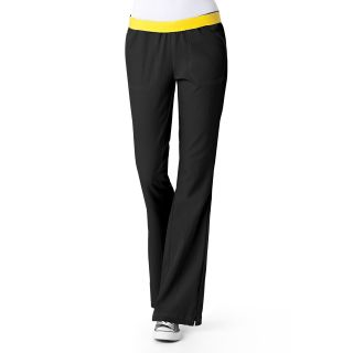 WonderWink Four Flex Stretch Womens Flip Flare Leg Scrub Pant-WonderWink
