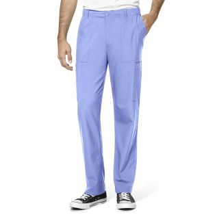 5 Pocket Men's Flat Front Cargo Pant by Wink W123-WonderWink