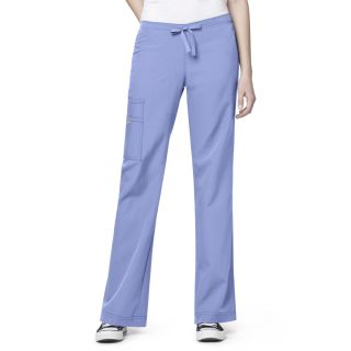 WonderWink Four Flex Stretch Cargo Drawstring Scrub Pant-WonderWink