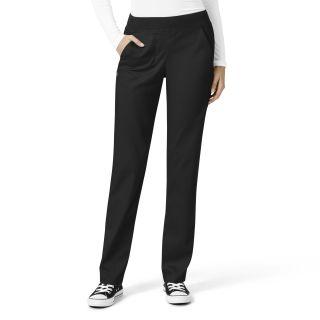Womens Knit Waist Cargo Pant-WonderWink