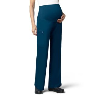 Womens Maternity Cargo Pant-WonderWink