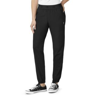 Womens Slim Cargo Jogger-WonderWink
