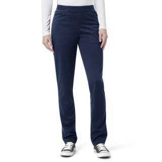Ponte Knit Straight Leg Pant-