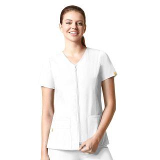 Kilo - Short Sleeve Zip Jacket-WonderWink
