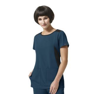 WSL Neo - Boat Neck Top by Wink HP-WonderWink