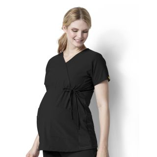 LB Maternity Stretch Top-WonderWink