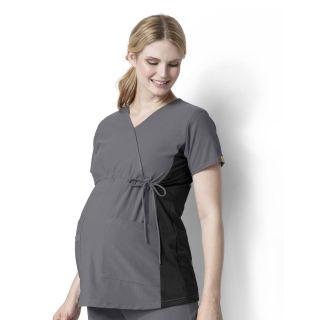 LB Maternity Stretch Top-WonderWink