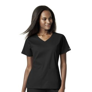 Womens 4 Pocket Wrap Top-WonderWink