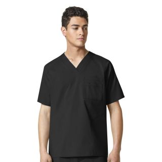 Anchor-Mens Pocket V-Nk Top
