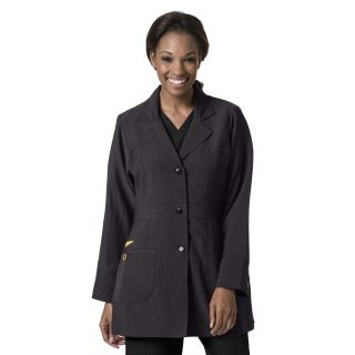Womens Stretch Lab Coat-WonderWink