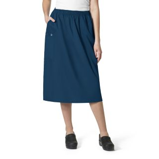 Pull On Cargo Skirt-WonderWink