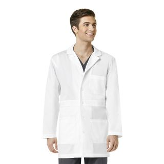 Mens Basic Lab Coat-WonderWink