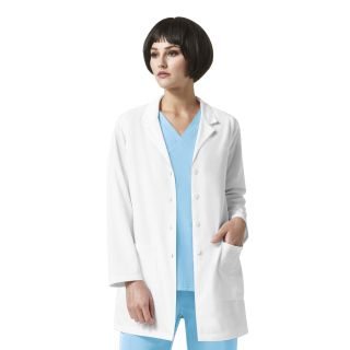 Luna - Lab Coat With Zip Pocket-WonderWink