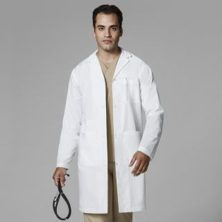 Mens Long Lab Coat-WonderWink