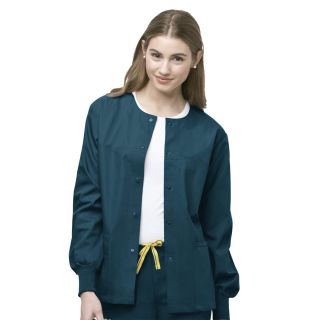 Origins Delta Unisex Snap Front Jacket by Wink-WonderWink