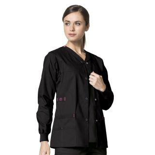 Wonder Flex Constance Womens Snap Jacket by Wink