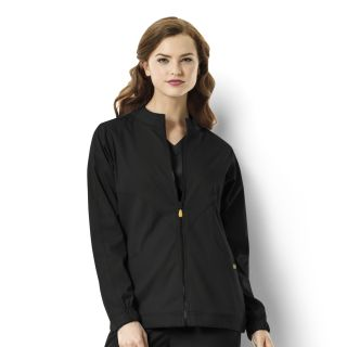 WonderWink Next Boston Warm-up Style Scrub Jacket-WonderWink