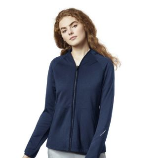 4 Pocket Fleece Full Zip Jacket by Wink-WonderWink