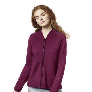 8209 Wink 4 Pocket Fleece Zip Jacket-WonderWink