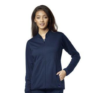 Aero 2 Pocket Knit Warm Up Jacket by Wink-WonderWink