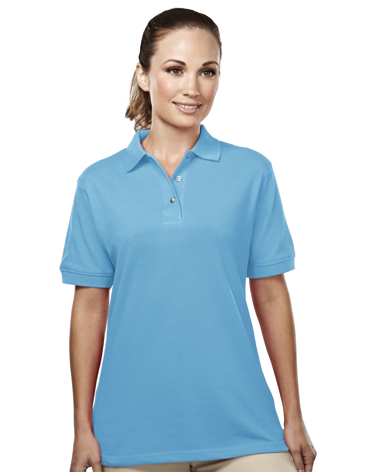 09291f04 Buy Accent-Womens 60/40 Easy Care Pique Golf Shirt - Tri-Mountain ...