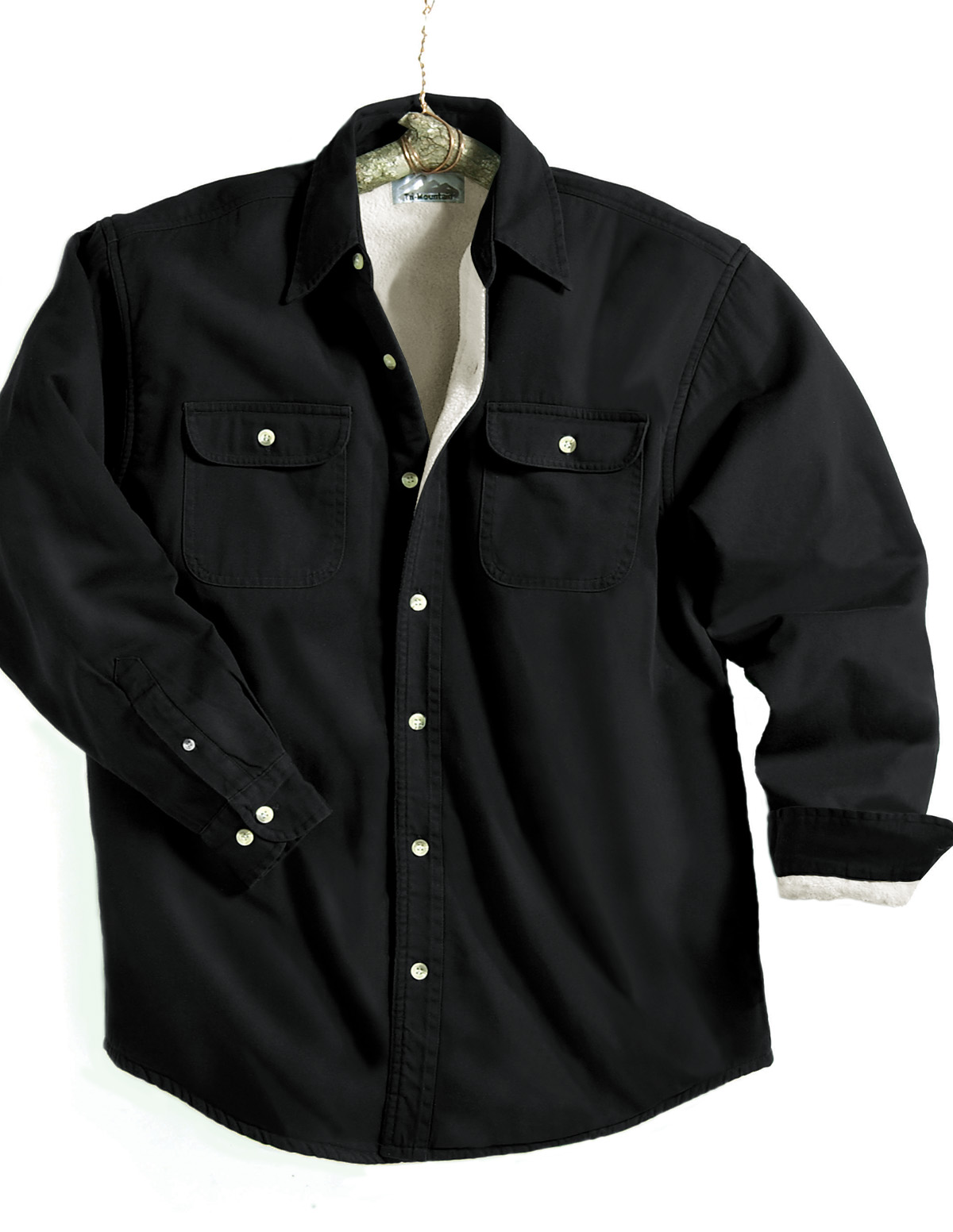 68f23fab9aa Buy Tahoe-Denim Shirt Jacket With Fleece Lining - Tri-Mountain ...