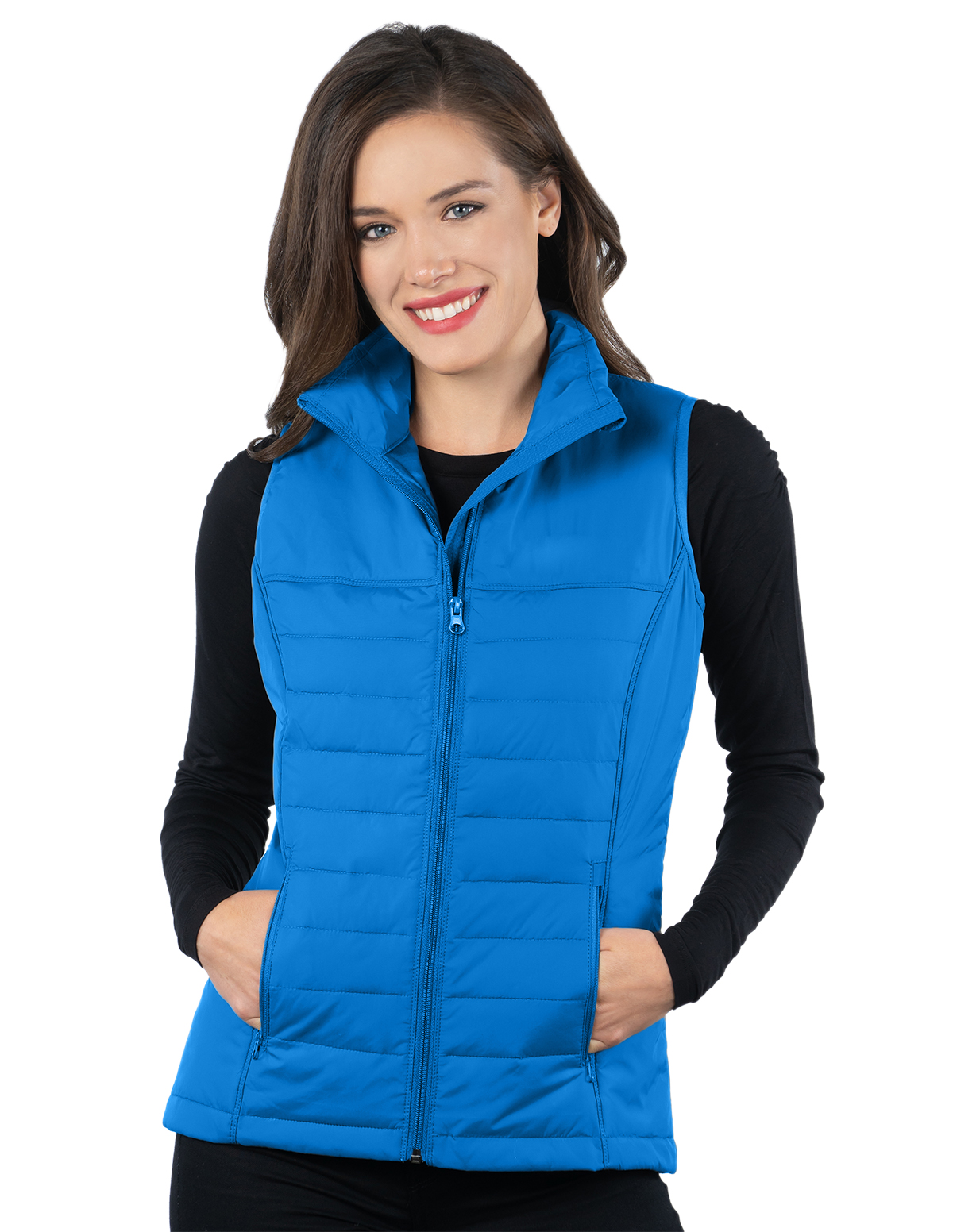 Lacey Vest-Womens Quilted Puffer Vest-Tri-Mountain