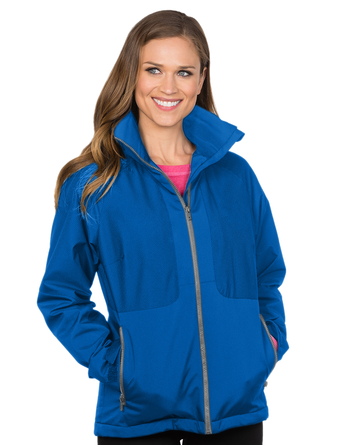 Bellrose-Womens Hooded Honeycomb Poly/Fleece Jacket-Tri-Mountain