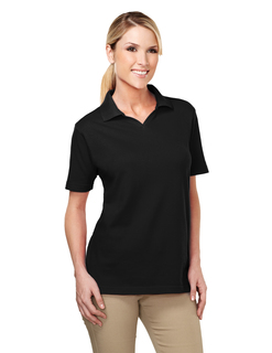 Newport-Womens 6040 Johnny Collar Easy Care Golf Shirt-Tri-Mountain