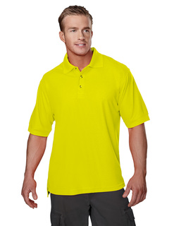 Safeguard-Poly Safety Pique Golf Shirt-Tri-Mountain