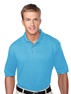 Profile-Mens 60/40 Pique Golf Shirt-Tri-Mountain