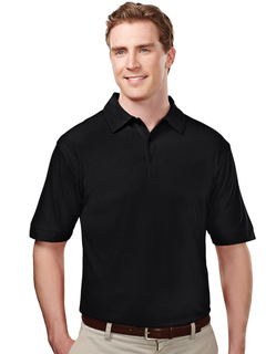 Endurance-Poly Ultracool Waffle Knit Golf Shirt-TM Performance