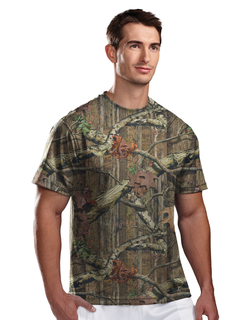 Momentum Camo- Polyester Mesh Shirt With Realtree Ap® Pattern & Tri-Mountain Ultracool™-Tri-Mountain