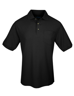 Signature Ltd-Mens Cotton Pique Pocketed Golf Shirt