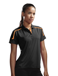 Lady Titan-Womens 100% Polyester Uc Knit Polo Shirt-TM Performance