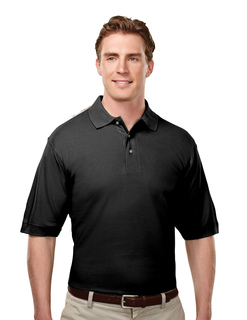 Caliber-Mens Cotton Baby Pique Golf Shirt-