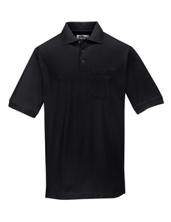 Caliber Ltd-Mens Cotton Baby Pique Pocketed Golf Shirt-Tri-Mountain