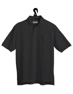 Engineer-Mens 60/40 Stain Resistant Pique Pocketed Golf Shirt-Tri-Mountain