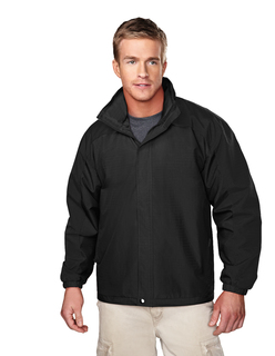 Meridian-Mens Ripstop Nylon Jacket With Mesh Lining-