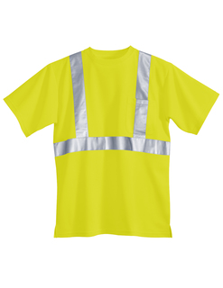 Boundary-Polyester Safety Shirt. Ansi Class 2/Level 2