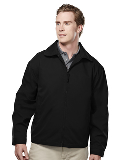Avenue-Mens Soft Twill Polyester Jacket With Nylon Lining-