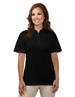 Assistant-Womens 60/40 Easy Care Knit Shirt With Snap Closure Ideal Cook Shirt-