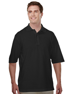 Assembly-Mens 60/40 Easy Care Knit Shirt With Snap Closure. Ideal Cook Shirt