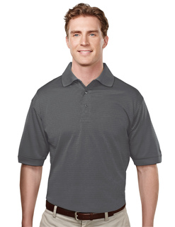 Odyssey-Poly Ultracool Basket Knit Golf Shirt-Tri-Mountain