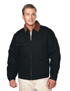 Pathfinder-Cotton Canvas Work Jacket With Quilted Lining-Tri-Mountain