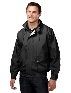 High Peak-Cotton/Poly Poplin Jacket With Poplin Lining