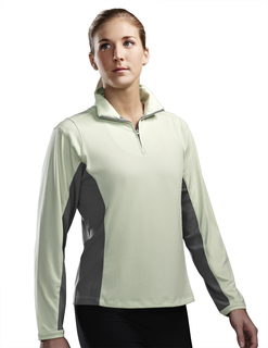 Dash-Womens Poly Ultracool 1/4 Zip Pullover Shirt